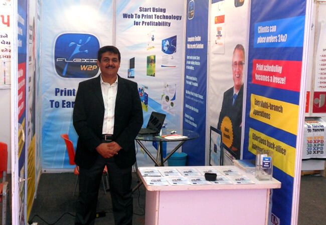 Flexi Web To Print at event in Ahmedabad