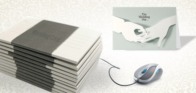 Invitations/ Wedding Cards and Web-To-Print Technology