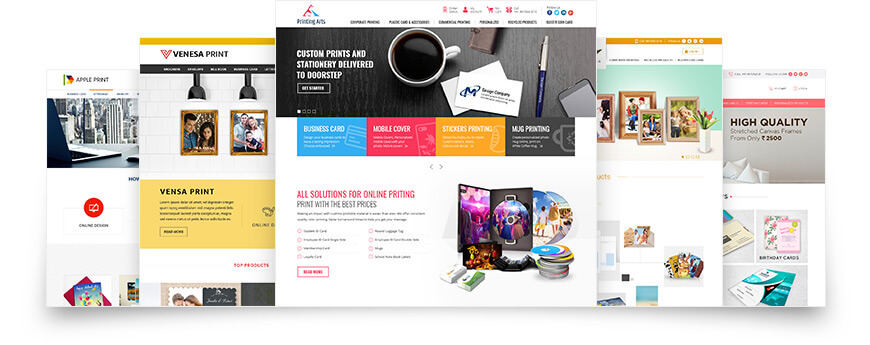 Professional Quality Templates - Web to Print Storefront