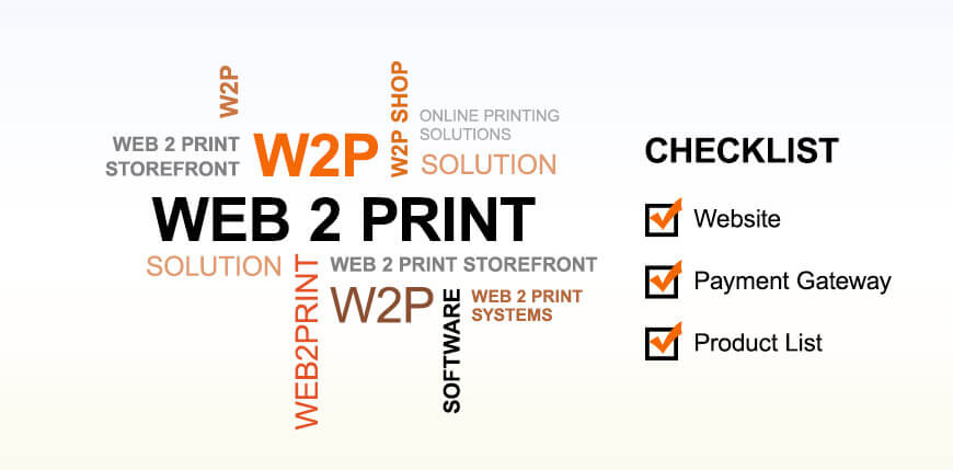 Web to Print Checklist